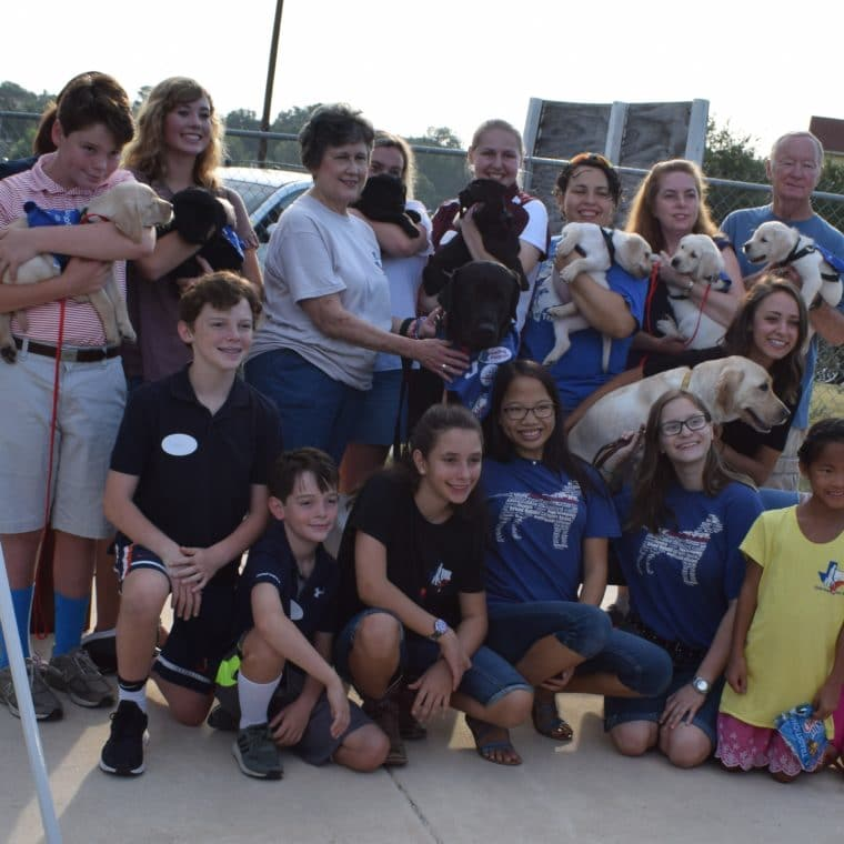 All Puppy Raisers From 1 Handoff Day With Famalies