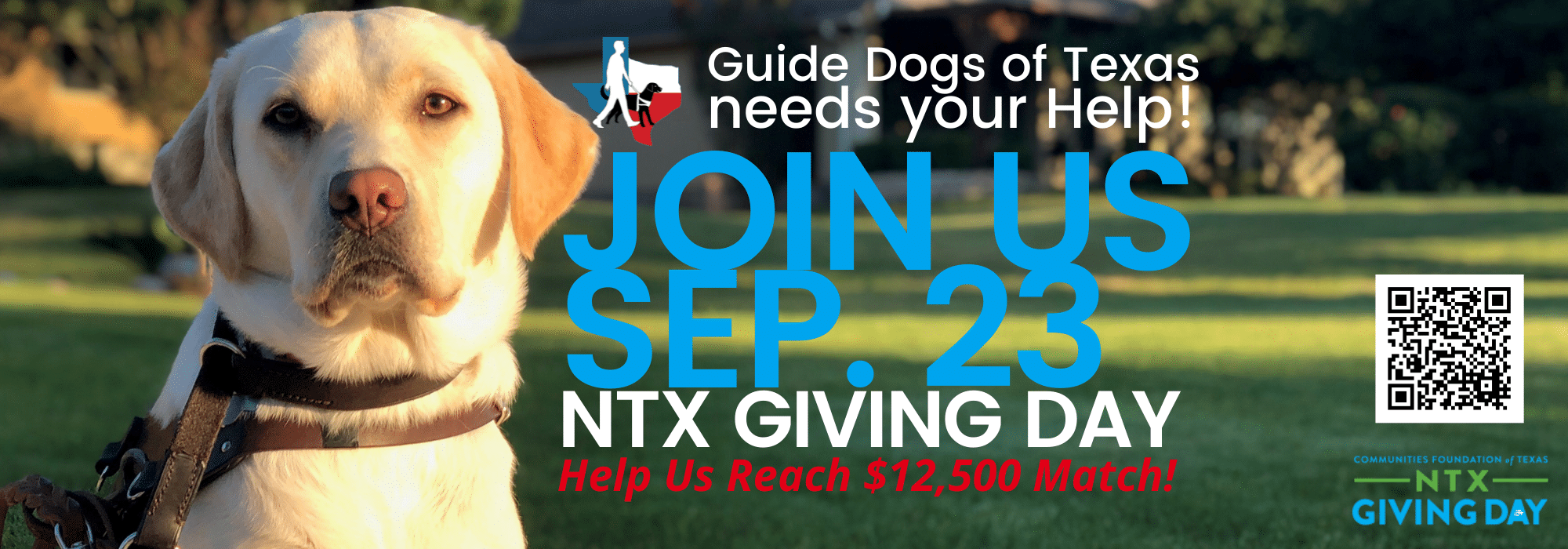 GDTX needs your help! Join Us Sep.23 North Texas Giving Day